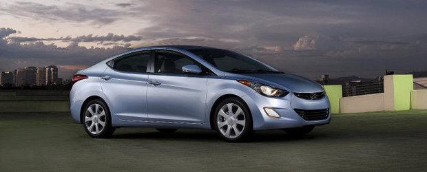 Hyundai Elantra isi adjudeca premiul Autobest 2012