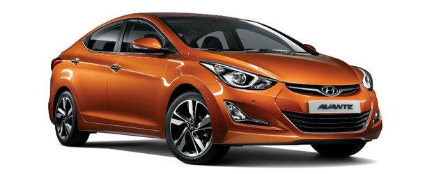 Hyundai Elantra primeste un facelift in Coreea de Sud