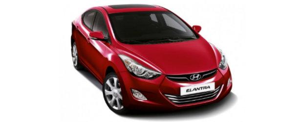 Hyundai Elantra soseste in Romania, la un pret de 14.450 euro cu TVA inclus