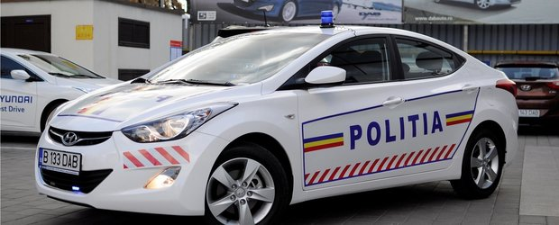 Hyundai Elantra va patrula impreuna cu Politia Ilfov