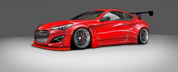 Hyundai Genesis Coupe by BTR: Cum sa scoti 1000 CP dintr-un motor in 4 cilindri