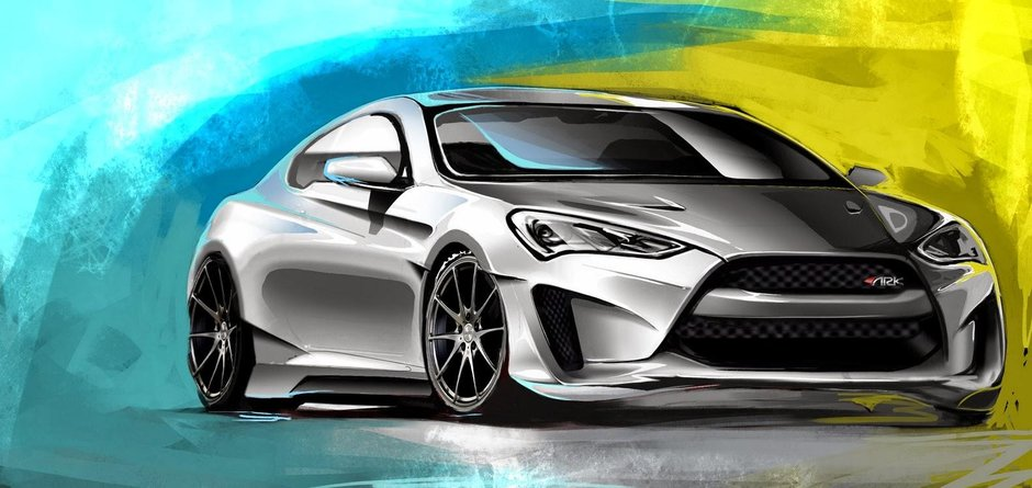 Hyundai Genesis Coupe Legato by ARK Performance
