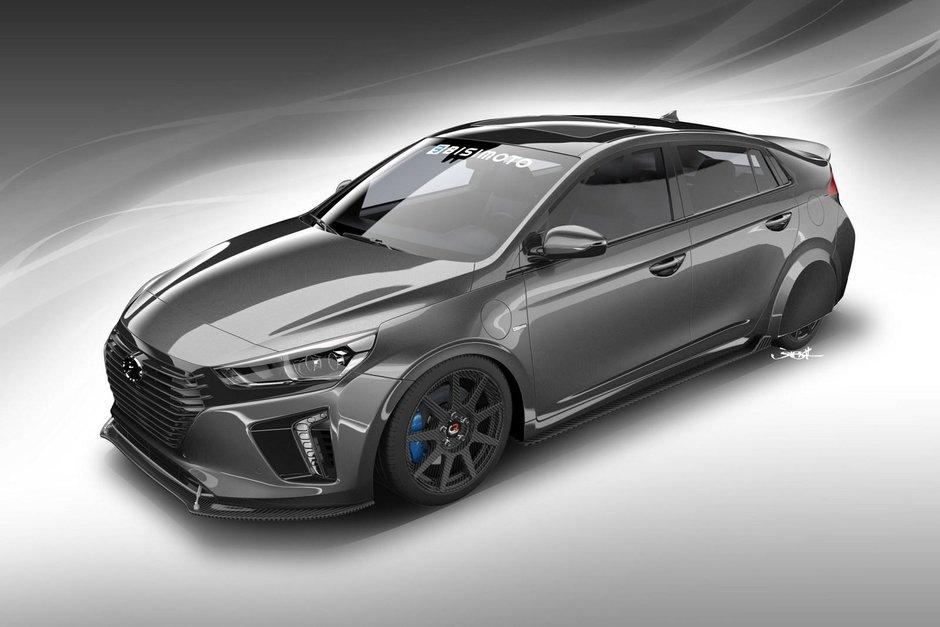 Hyundai HyperEconiq Ioniq - Prima poza
