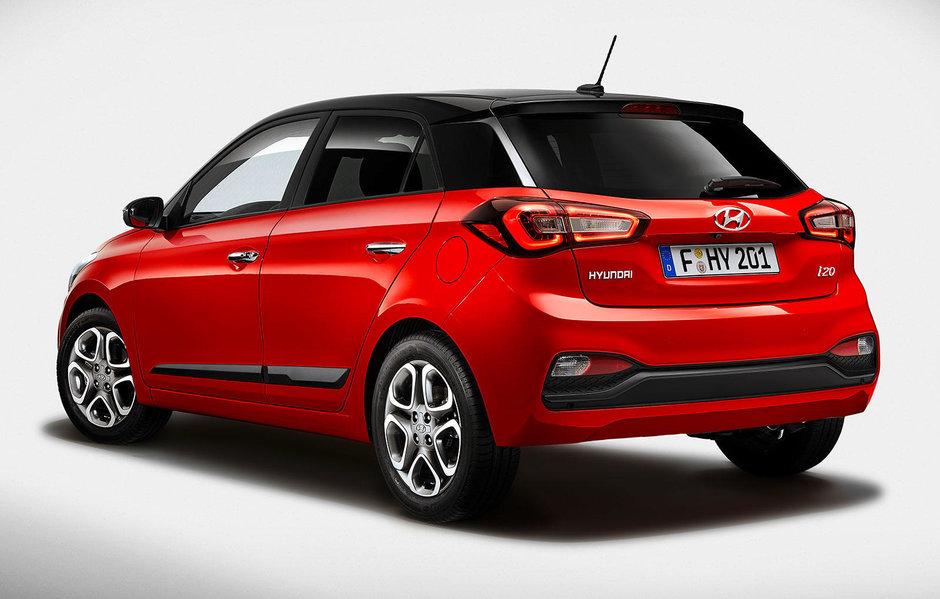 Hyundai i20 facelift
