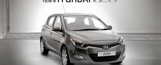 Hyundai i20 simte orice - noua reclama auto