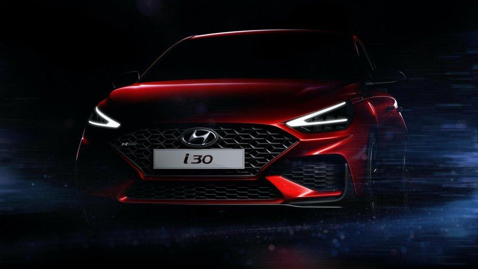 Hyundai i30 Facelift - Prima poza