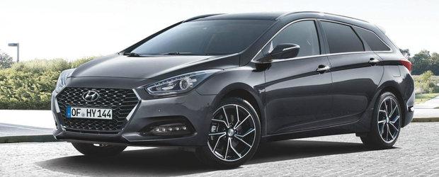 Hyundai i40 primeste intariri. Printre acestea si un nou motor DIESEL de 1.6 litri