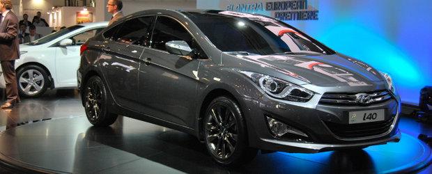 Hyundai i40 sedan in premiera mondiala la Barcelona