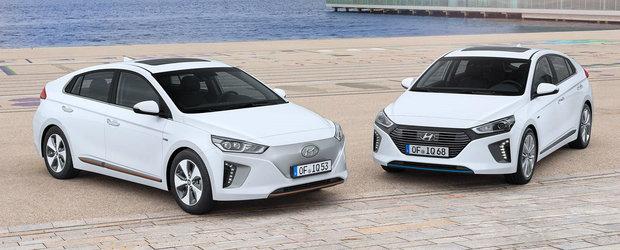 Hyundai intra pe teren minat cu modelul Ioniq. Cu 320 de km autonomie va rivaliza direct cu Tesla Model 3