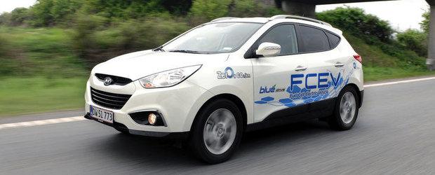 Hyundai ix35 FCEV a obtinut locul patru la Zero Rally 2012