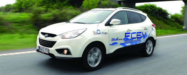 Hyundai ix35 Fuel Cell in turneu prin Europa