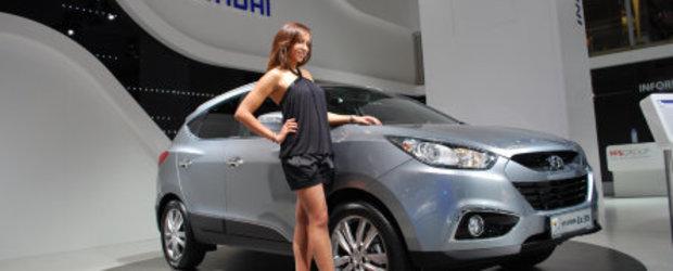 Hyundai ix35 s-a lasat admirat la Frankfurt