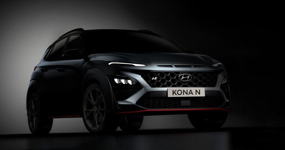 Hyundai Kona N - Noi Poze Spion