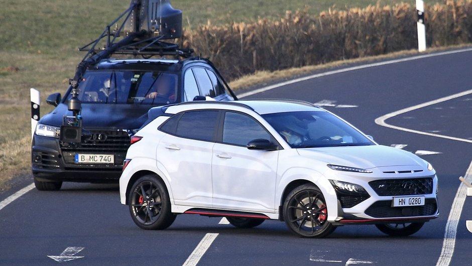 Hyundai Kona N - Poze spion