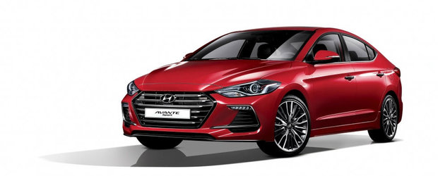 Hyundai lanseaza in Coreea un sedan compact cu 201 CP sub capota. Vine el si in Europa?
