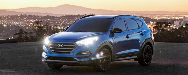 Hyundai lumineaza cerul Las Vegas-ului cu noua editie speciala Tucson Night