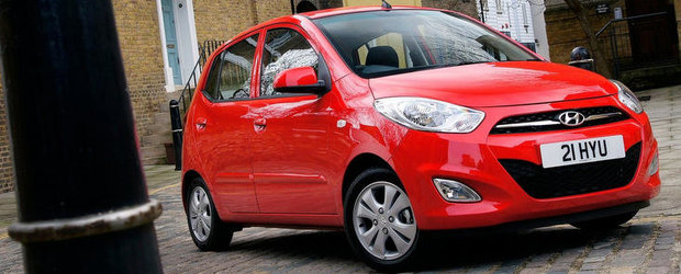 Hyundai muta productia lui i10 in Turcia