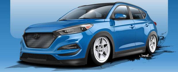 Hyundai ne pregateste de SEMA 2015 cu un Tucson de 700+ CP