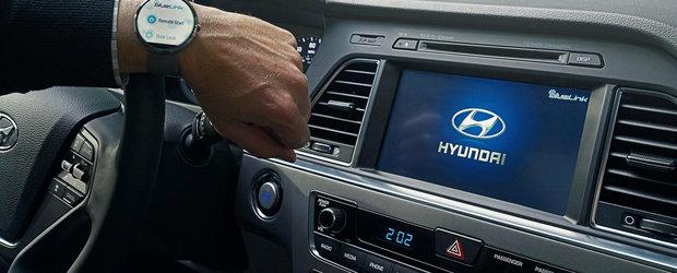 Hyundai porneste masina de la distanta prin comenzi vocale adresate... ceasului
