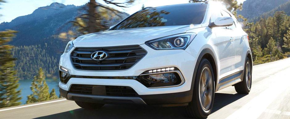 Hyundai Santa Fe Sport se alatura celor mai sigure SUV-uri din lume dupa ce a primit un premiu important