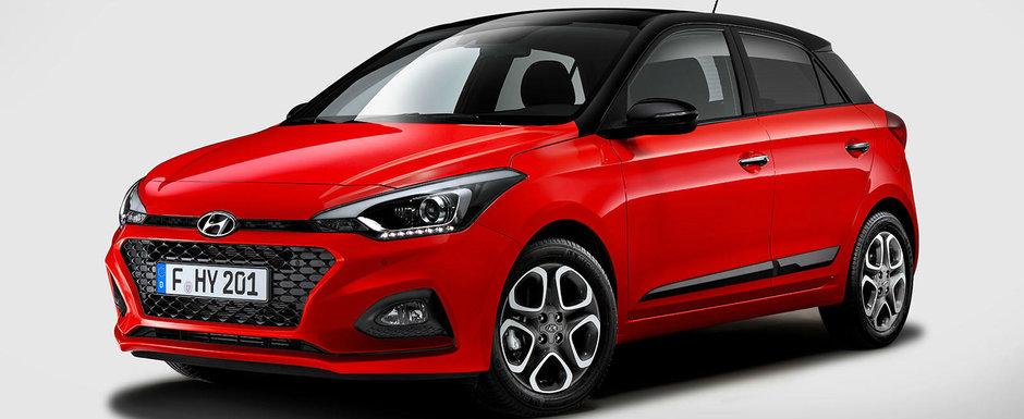 Hyundai se aliniaza trendului. i20 FACELIFT lansat fara niciun motor DIESEL, dar cu cutie automata cu dublu ambreiaj