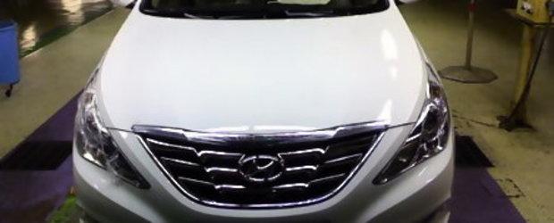 Hyundai Sonata 2011 - Noi detalii si imagini