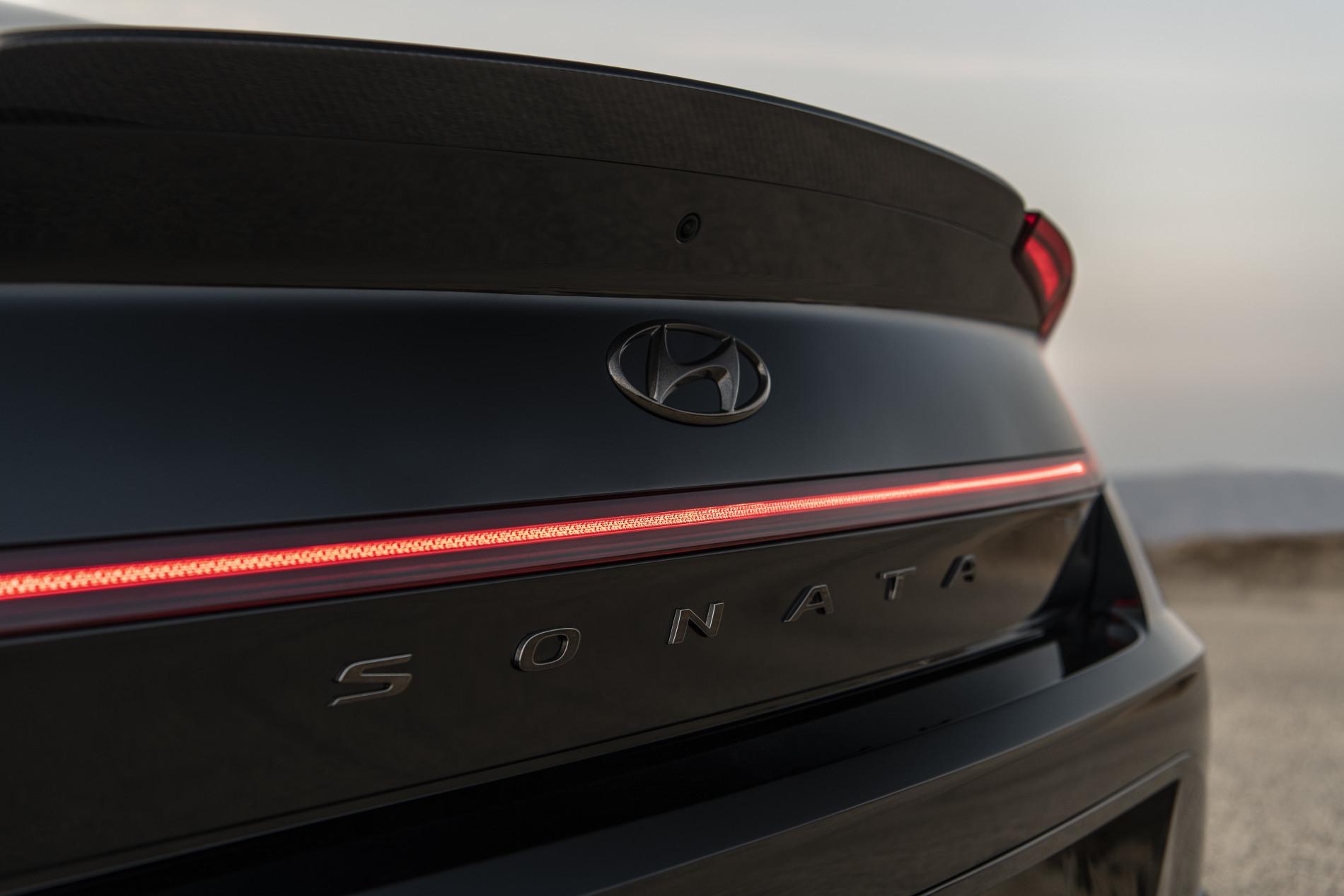 Hyundai Sonata N Line Night Edition - Hyundai Sonata N Line Night Edition