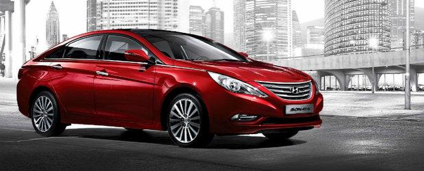 Hyundai Sonata primeste un facelift minor pentru piata din Coreea de Sud