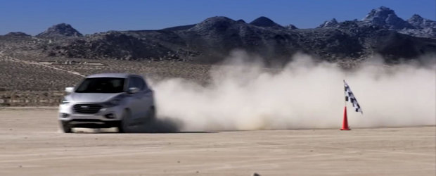 Hyundai Tucson FCV stabileste recordul pentru cel mai rapid SUV pe hidrogen