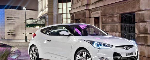Hyundai Veloster - Masina Lunii iulie in Romania