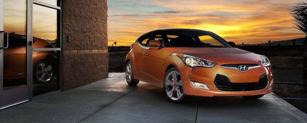 Hyundai Veloster prezinta cea mai mare valoare de revanzare din segment