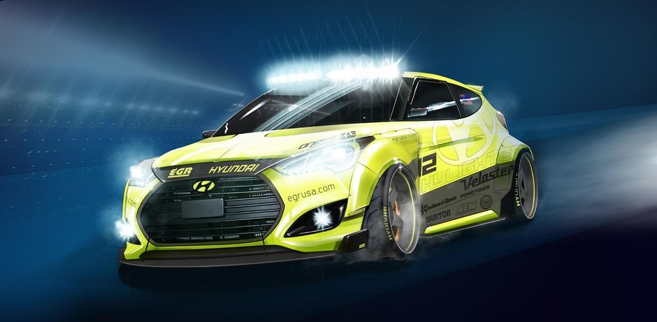 Hyundai Veloster Turbo by EGR Group