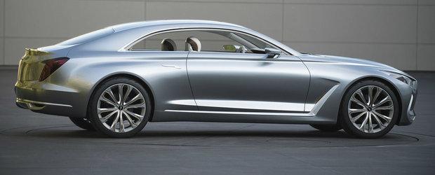 Hyundai Vision G Coupe Concept ni se arata in toata splendoarea