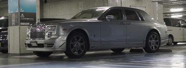 I-a cedat motorul original, asa ca a instalat sub capota un 2JZ complet modificat. Cum suna acum acest Rolls-Royce Phantom