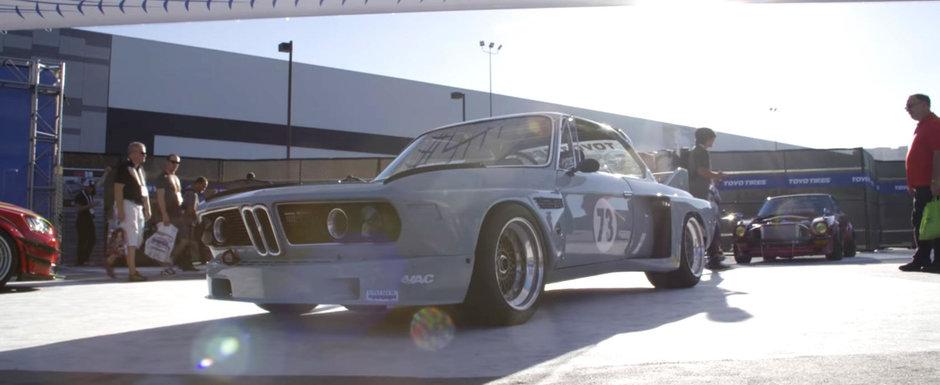 """I-a cucerit pe toti. Acest BMW din 1973 a fost desemnat """"Cea mai buna masina europeana"""" la SEMA"""