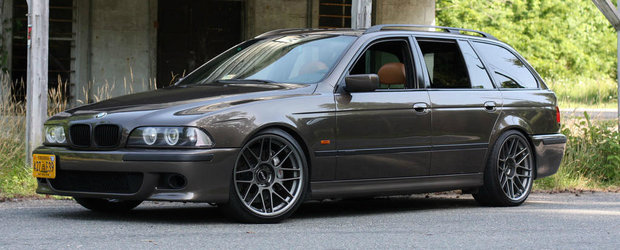 I-a 'daruit' anterior un V8 de 7 litri, insa acum vrea sa scape de el. Uite pentru cat se vinde acest inedit BMW 570i