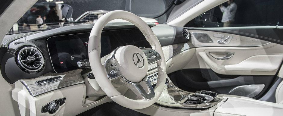 I-a lasat pe toti cu gura cascata. Uite cum arata PE VIU noul Mercedes CLS!