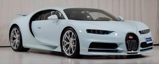 I-a platit pe cei de la Bugatti sa-i faca un CHIRON numai pentru el. Acum il vinde cu suma asta