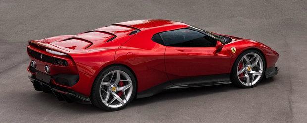 I-a platit pe italienii de la Ferrari sa-i faca o masina unica. Rezultatul arata asa si se numeste SP38