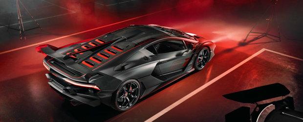 I-a platit pe italienii de la Lamborghini sa-i faca o masina doar pentru el. Asa arata bijuteria pe patru roti