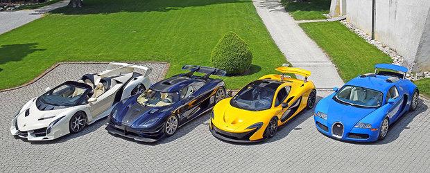 I-au confiscat 25 de super masini, pe care acum le scot la vanzare. Printre ele un Veneno Roadster si un Koenigsegg One:1