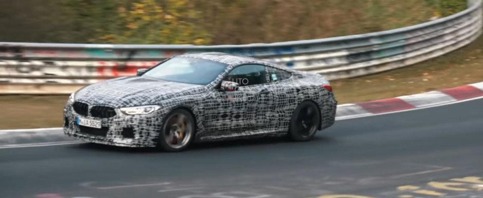 I-au inrosit discurile de frana pe Nurburgring. VIDEO cu noul BMW M8 impins la limita