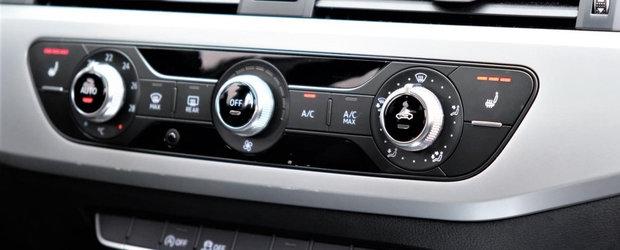 I se mai spune si A4-ul saracului. Masina germana se vinde fara clima automata si doar cu motor de 1.4 litri
