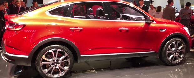 I se mai spune si X6-le saracului. Cum arata de aproape noul Renault Arkana, primul SUV coupe care se vinde ieftin