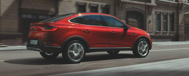 I se mai spune si X6-le saracului. Renault prezinta noul Arkana, primul SUV coupe care se vinde ieftin