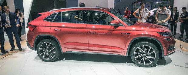 I se mai spune si X6-le saracului. Uite cum arata pe viu primul SUV Coupe de la Skoda