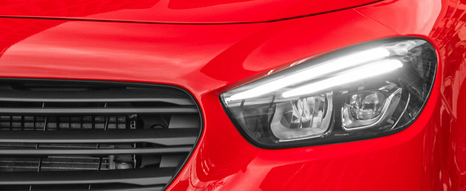 I se va spune si Mercedes-ul saracului. Cea mai noua masina lansata de nemti in Romania are motor de 75 CP si costa mai putin decat o Dacie full