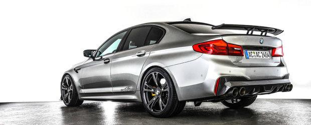 Iarna vine cu surprize pentru iubitorii de tuning. Acesta este cel mai rapid BMW M5, de ultima generatie, din lume