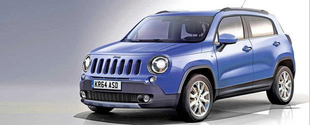Iata cum ar putea arata noul Jeepster, rivalul Jeep pentru Nissan Juke!