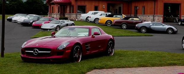 Iata cum arata cea mai impresionanta colectie de masini din SUA